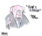 Cartoonist Ann Telnaes  Ann Telnaes' Editorial Cartoons 2019-06-27 presidential candidate