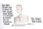 Cartoonist Ann Telnaes  Ann Telnaes' Editorial Cartoons 2019-11-19 impeachment