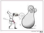 Cartoonist Ann Telnaes  Ann Telnaes' Women's  eNews Cartoons 2007-10-26 presidential election