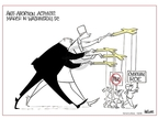 Cartoonist Ann Telnaes  Ann Telnaes' Women's  eNews Cartoons 2008-01-22 abortion