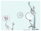 Cartoonist Ann Telnaes  Ann Telnaes' Women's  eNews Cartoons 2008-04-15 inspiration