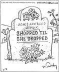 Cartoonist Mike Twohy  That's Life 2003-02-08 shop