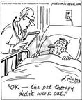Cartoonist Mike Twohy  That's Life 2003-02-22 animal hospital