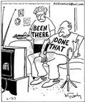Cartoonist Mike Twohy  That's Life 2003-02-27 elderly