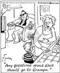 Cartoonist Mike Twohy  That's Life 2003-04-01 grandmother