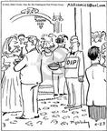 Cartoonist Mike Twohy  That's Life 2003-04-23 food