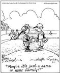 Cartoonist Mike Twohy  That's Life 2003-07-01 baseball