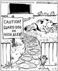 Cartoonist Mike Twohy  That's Life 2003-07-02 guard dog