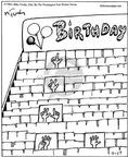 Cartoonist Mike Twohy  That's Life 2003-07-17 birthday