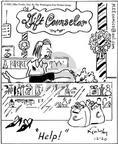 Cartoonist Mike Twohy  That's Life 2003-12-20 Christmas gift