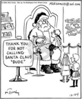 Cartoonist Mike Twohy  That's Life 2004-12-24 Christmas