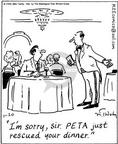 Cartoonist Mike Twohy  That's Life 2004-01-20 animal rescue
