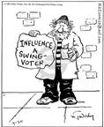 Cartoonist Mike Twohy  That's Life 2003-09-20 voter