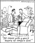 Cartoonist Mike Twohy  That's Life 2004-03-08 furniture shop