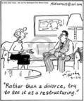 Cartoonist Mike Twohy  That's Life 2004-03-24 marital status