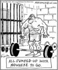 Cartoonist Mike Twohy  That's Life 2004-06-04 muscle