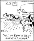 Cartoonist Mike Twohy  That's Life 2004-08-27 cat behavior