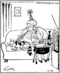 Cartoonist Mike Twohy  That's Life 2004-12-31 elderly