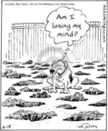 Cartoonist Mike Twohy  That's Life 2005-06-15 dog bone