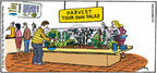 Cartoonist Mike Twohy  That's Life 2005-07-17 gardening