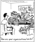 Cartoonist Mike Twohy  That's Life 2005-11-16 human resources