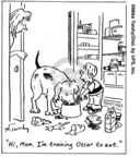 Cartoonist Mike Twohy  That's Life 2007-10-09 puppy dog