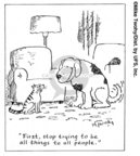 Cartoonist Mike Twohy  That's Life 2007-07-09 dog person