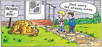 Cartoonist Mike Twohy  That's Life 2007-07-08 beware of dog