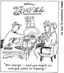 Cartoonist Mike Twohy  That's Life 2007-09-12 travel cost