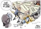Cartoonist Gary Varvel  Gary Varvel's Editorial Cartoons 2010-11-21 Barack Obama