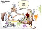 Cartoonist Gary Varvel  Gary Varvel's Editorial Cartoons 2010-12-10 Barack Obama