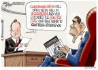 Cartoonist Gary Varvel  Gary Varvel's Editorial Cartoons 2010-12-23 Barack Obama