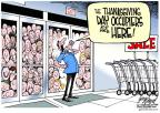 Cartoonist Gary Varvel  Gary Varvel's Editorial Cartoons 2011-11-23 shop