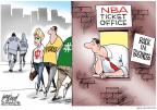 Cartoonist Gary Varvel  Gary Varvel's Editorial Cartoons 2011-11-29 basketball