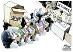 Cartoonist Gary Varvel  Gary Varvel's Editorial Cartoons 2012-01-01 shop