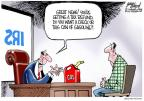 Cartoonist Gary Varvel  Gary Varvel's Editorial Cartoons 2012-04-12 tax refund