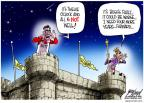 Cartoonist Gary Varvel  Gary Varvel's Editorial Cartoons 2012-06-24 George W. Bush