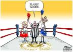 Cartoonist Gary Varvel  Gary Varvel's Editorial Cartoons 2012-06-26 Arizona immigration