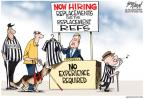 Cartoonist Gary Varvel  Gary Varvel's Editorial Cartoons 2012-09-26 football strike