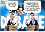 Cartoonist Gary Varvel  Gary Varvel's Editorial Cartoons 2012-10-03 2012 election economy