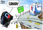 Cartoonist Gary Varvel  Gary Varvel's Editorial Cartoons 2012-11-06 2012 election economy