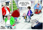 Cartoonist Gary Varvel  Gary Varvel's Editorial Cartoons 2012-12-12 shop