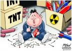 Cartoonist Gary Varvel  Gary Varvel's Editorial Cartoons 2013-04-10 North Korea