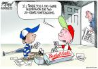 Cartoonist Gary Varvel  Gary Varvel's Editorial Cartoons 2013-06-06 baseball