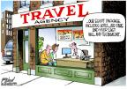 Cartoonist Gary Varvel  Gary Varvel's Editorial Cartoons 2013-08-20 travel agency