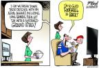 Cartoonist Gary Varvel  Gary Varvel's Editorial Cartoons 2013-09-06 football strike