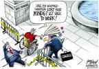 Cartoonist Gary Varvel  Gary Varvel's Editorial Cartoons 2013-10-03 World War II Memorial