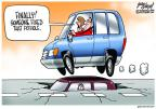 Cartoonist Gary Varvel  Gary Varvel's Editorial Cartoons 2014-01-15 transportation