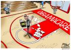 Cartoonist Gary Varvel  Gary Varvel's Editorial Cartoons 2014-02-12 Obama health care