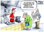 Cartoonist Gary Varvel  Gary Varvel's Editorial Cartoons 2014-05-22 masters degree